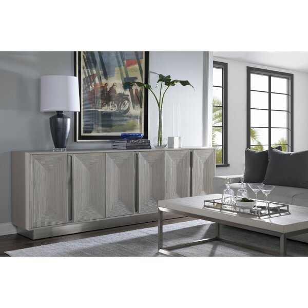 Gradient Solid Wood TV Stand for TVs up to 40