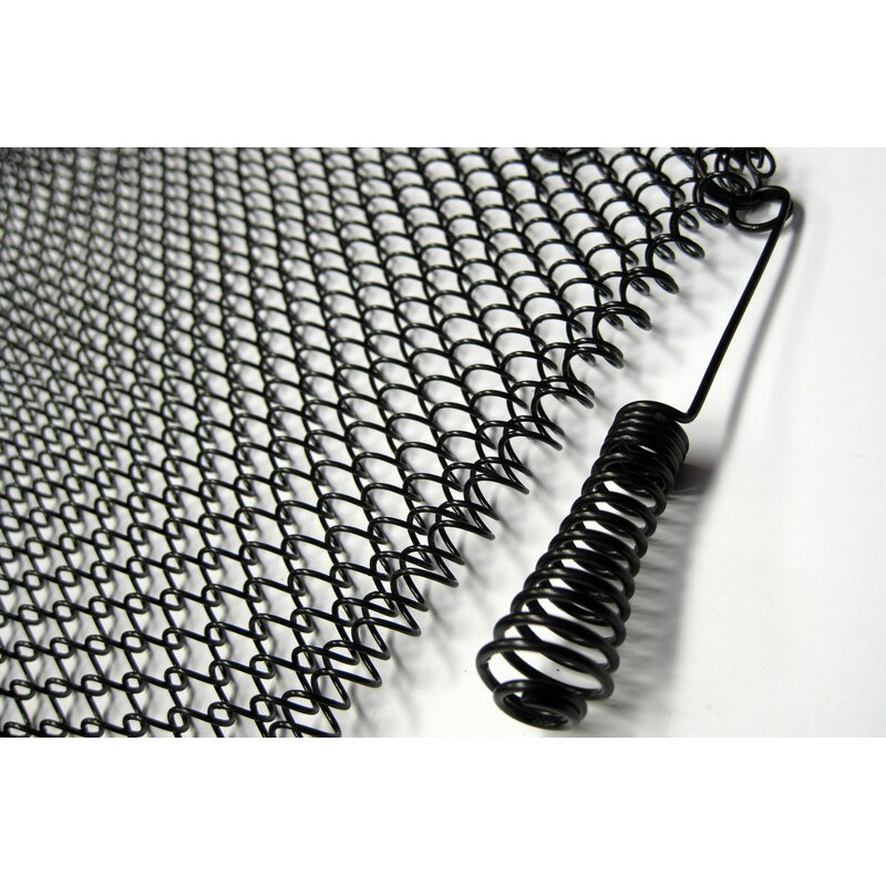 Fireplace Mesh Screen Curtain 19 High each 24 Wide. Enhance the Style of Your Fireplace with a Condar Mesh Screen Includes 2 Panels