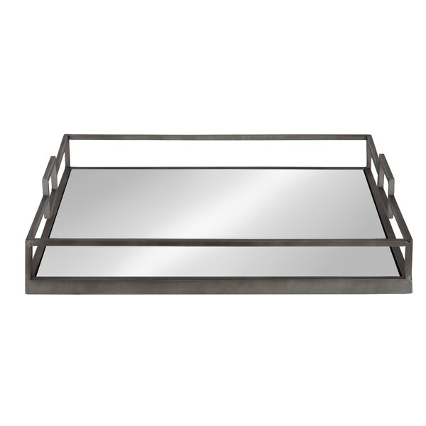 Hargett Square Metal Vanity Tray by Ivy Bronx