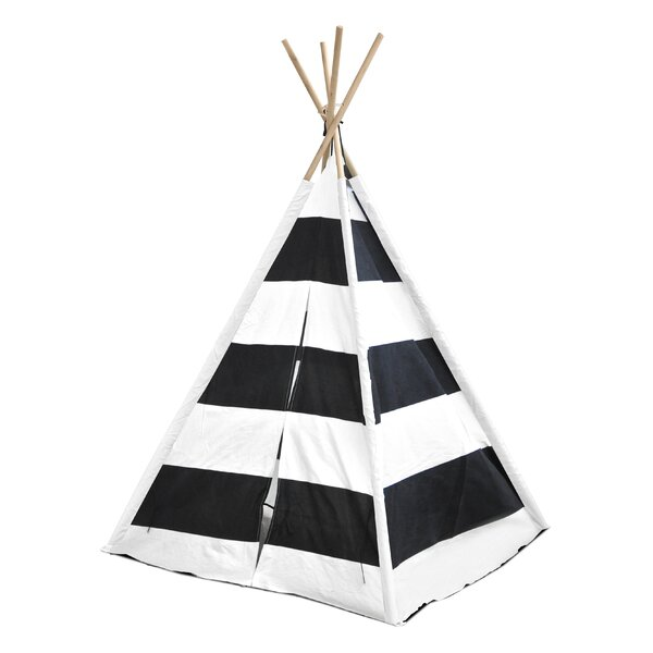 Kids Play Pop-Up Play Teepee with Carrying Bag by Heritage Kids