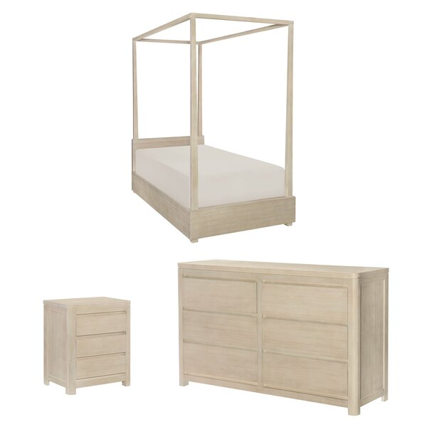 Indio Canopy Configurable Bedroom Set by Wendy Bellissimo by LC Kids