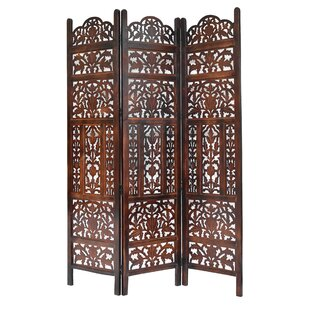 Best Weatherford 3 Panel Room Divider By Bloomsbury Market