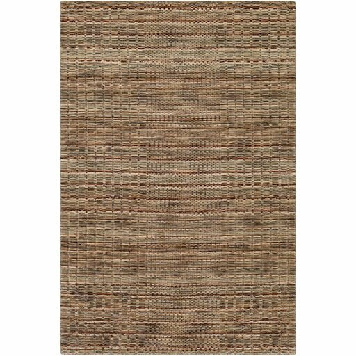 Alysa Hand-Loomed Cream/Khaki Area Rug by Union Rustic
