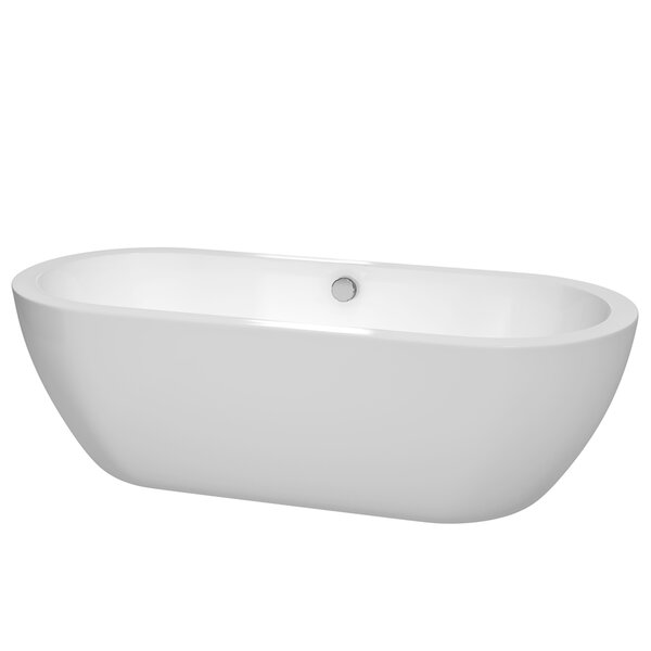 Soho Freestanding 72 H x 31 Soaking Bathtub by Wyndham Collection