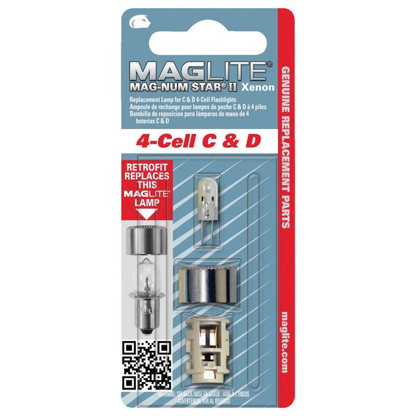 Krypton 4 Cell Light Bulb by Mag Instruments
