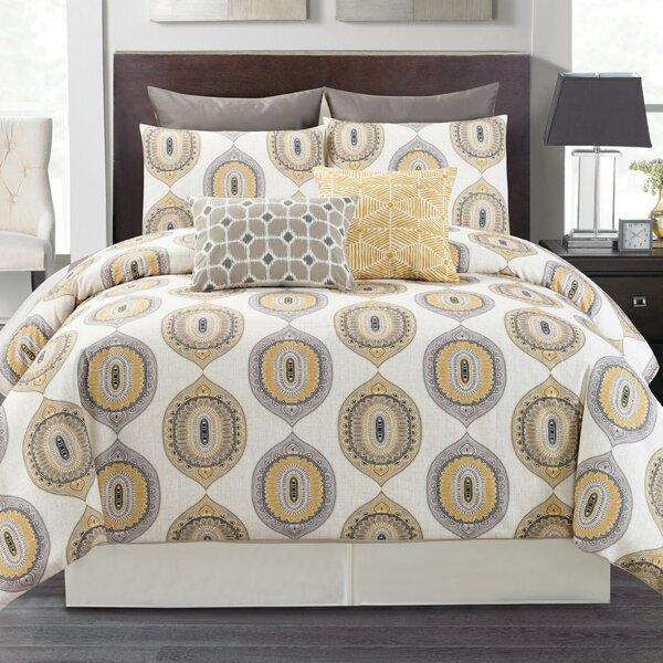 Pfister Mustard Comforter Set by World Menagerie