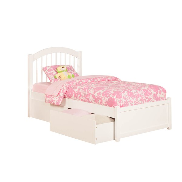 Holliston Extra Long Twin Platform Bed with Drawers by Harriet Bee