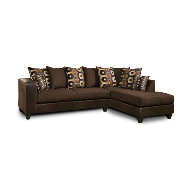 Genoa Right Hand Facing Sectional By Ivy Bronx