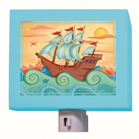 Pirate Ship Night Light by Oopsy Daisy