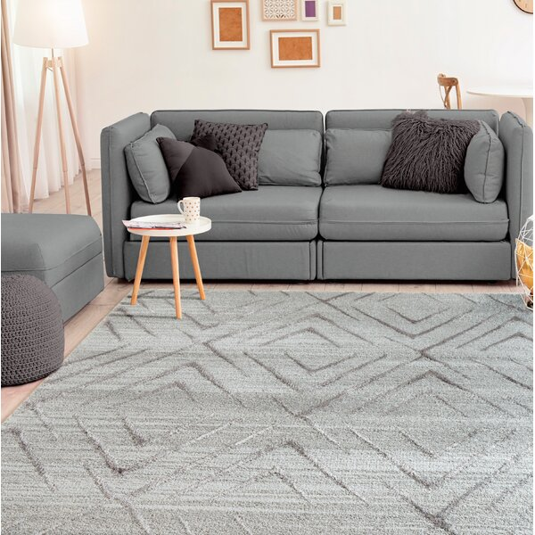 Dirks Accent Gray Area Rug by George Oliver