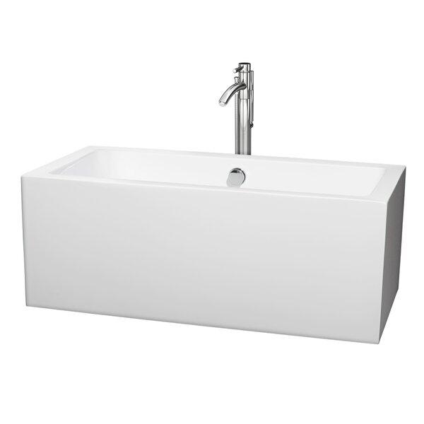 Melody 59.5 x 29.5 Soaking Bathtub by Wyndham Collection
