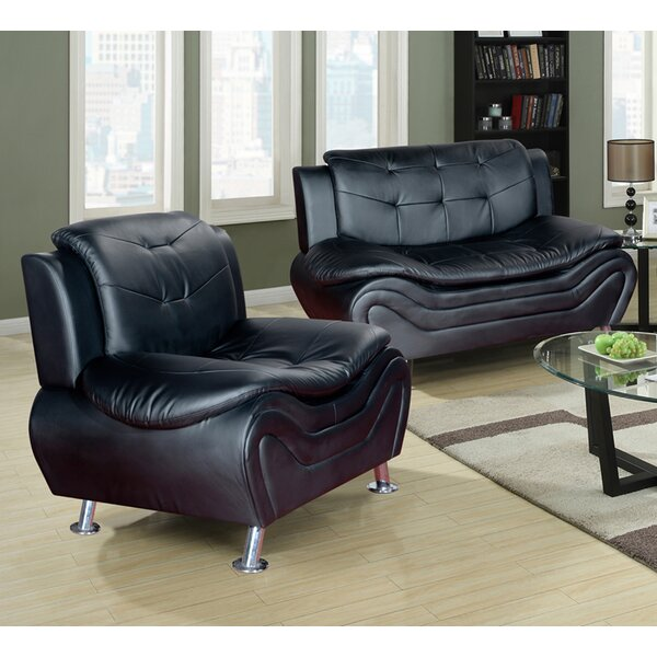 Jung Modern 2 Piece Living Room Set by Orren Ellis