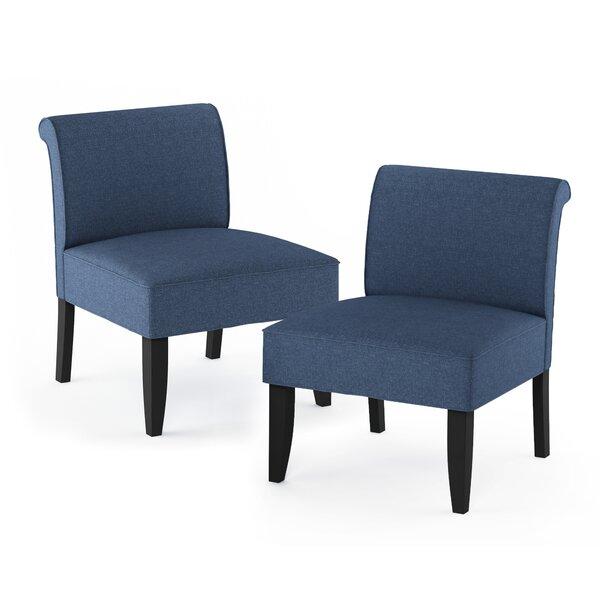 Aikens Belfort Slipper Chair (Set Of 2) By Red Barrel Studio