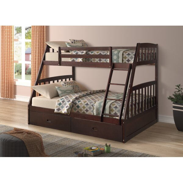 Tingley Twin over Full Bunk Bed by Harriet Bee