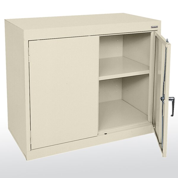 Elite Series 2 Door Credenza by Sandusky Cabinets