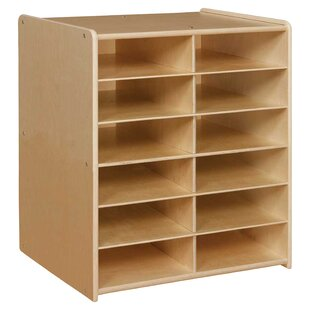 Compare & Buy Contender 12 Compartment Cubby By Wood Designs