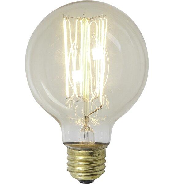 60W Antique Light Bulb by Volume Lighting