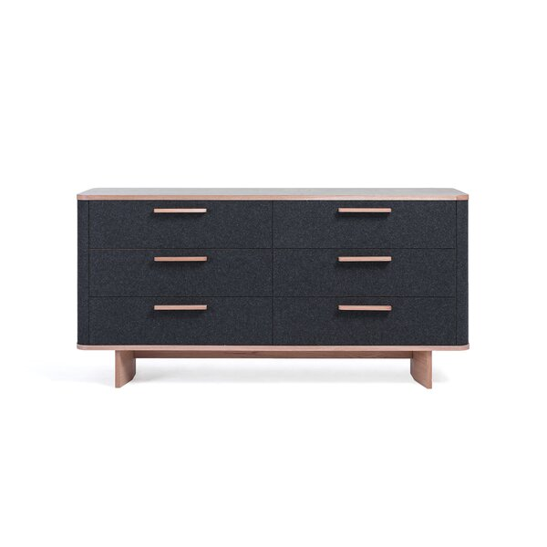 Jeb 6 Drawer Double Dresser by Brayden Studio