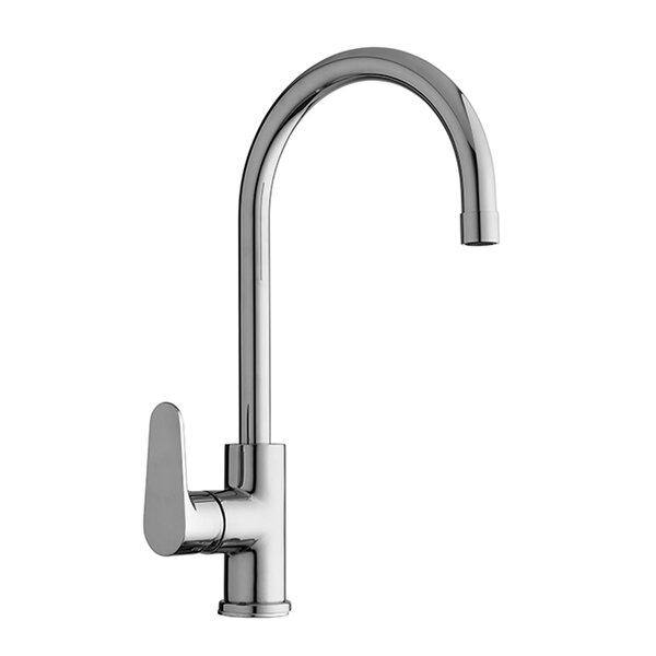 Green Single Handle Kitchen Faucet by WS Bath Collections