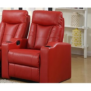 Eugenia Home Theater Left Facing Recliner & Theater Seating Youu0027ll Love | Wayfair islam-shia.org