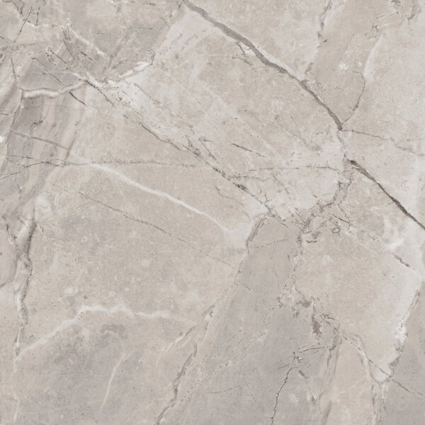 Passaggio Full Polished Glazed Porcelain Field Tile in Beige by Multile