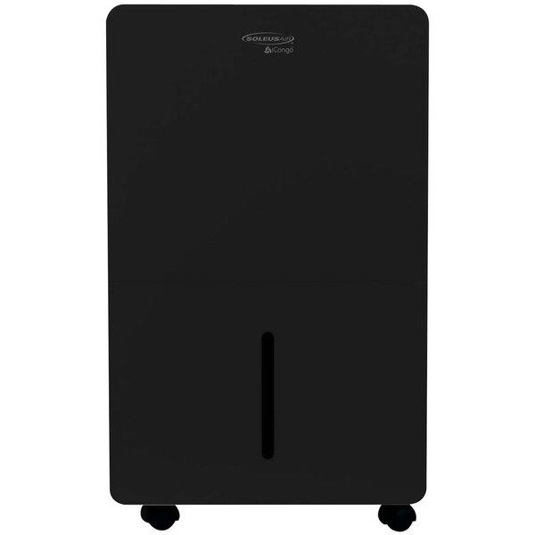 SoleusAir 70 Pint Portable Dehumidifier with Caste