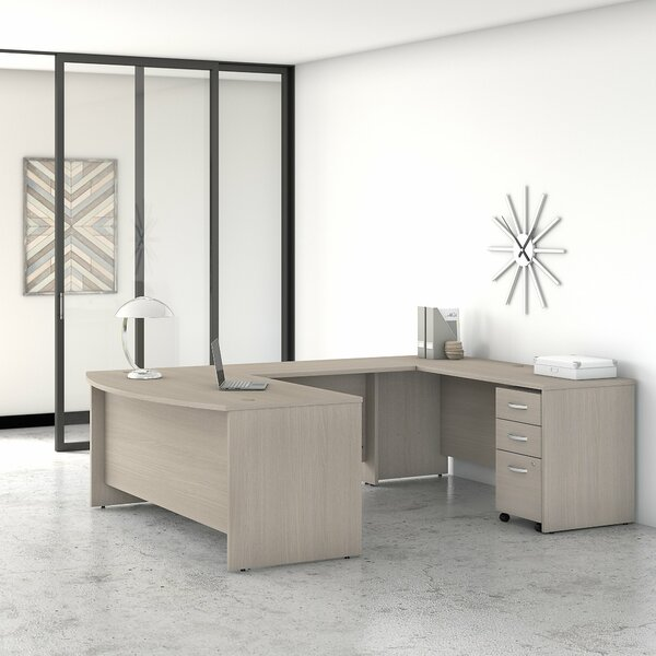 Studio C 2 Piece U-Shaped Executive Desk