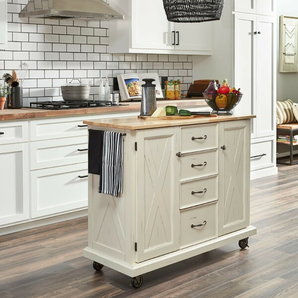 Mcphee Kitchen Cart By Rosalind Wheeler