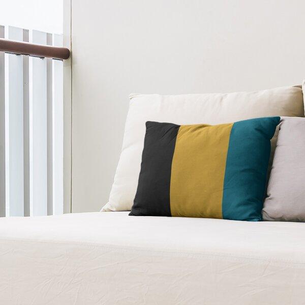 Jacksonville Throwback Football Indoor/Outdoor Lumbar Pillow