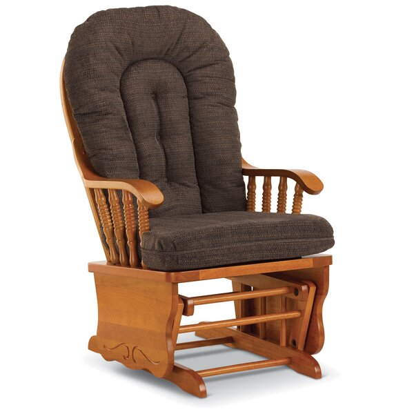 Amaral Wooden Rocking Chair By Loon Peak