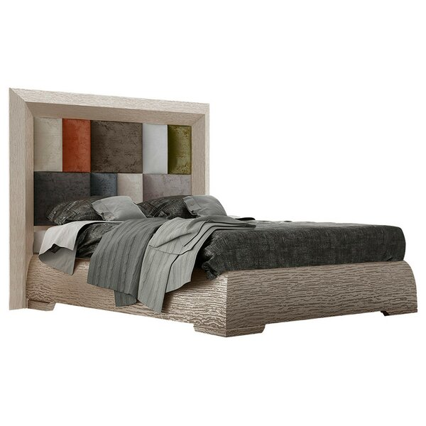 Petry Upholstered Panel Bed by Loon Peak