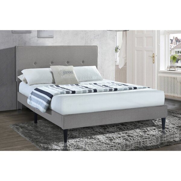 Lazerek Upholstered Platform Bed by Latitude Run