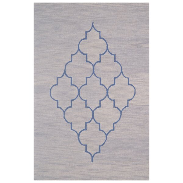 Wool Hand-Tufted Gray Area Rug by Eastern Weavers