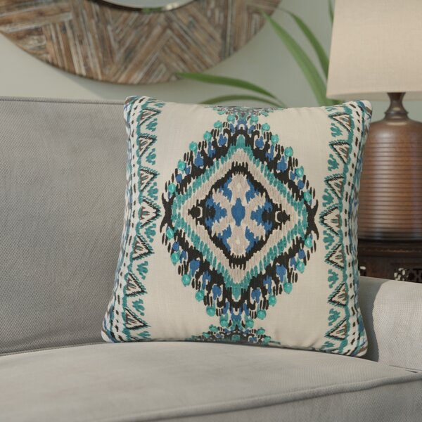 Bernice Cotton Throw Pillow by Bloomsbury Market