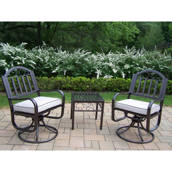 Lisabeth Patio Chair with Cushion by Red Barrel Studio