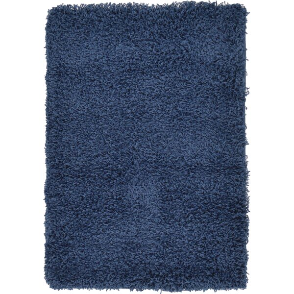 Falmouth Navy Blue Area Rug by Andover Mills