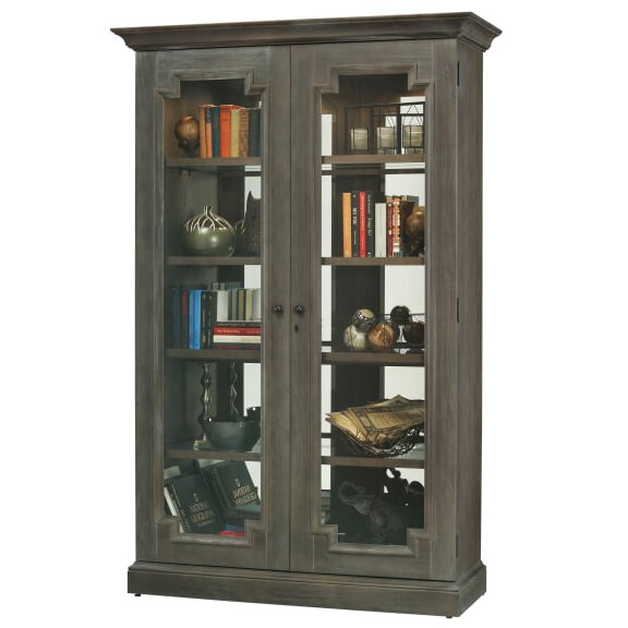Broadhead Lighted Curio Cabinet by Darby Home Co