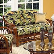 Amarillo Loveseat by Boca Rattan