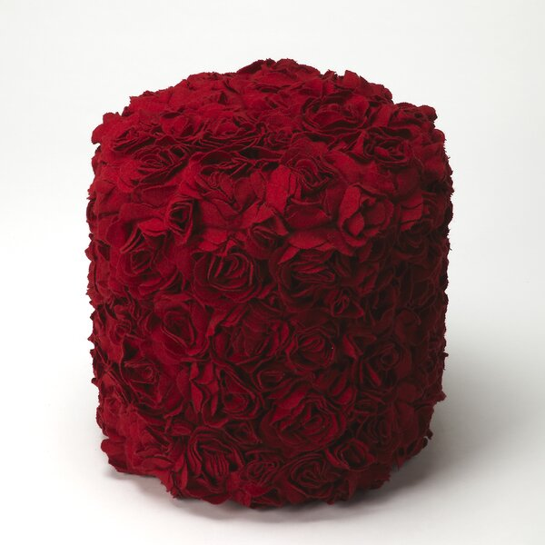 Sabra Floral Pouf by House of Hampton