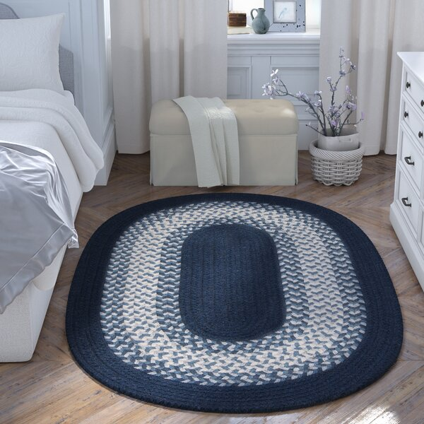 Serafin Navy Area Rug by August Grove
