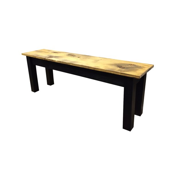 Ryley Wood Bench by Loon Peak