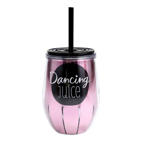 Kaydence Dancing Juice 11 oz. Plastic Travel Tumbler by Hallmark