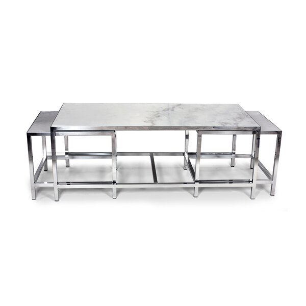 mid-century modern coffee table sets you'll love | wayfair