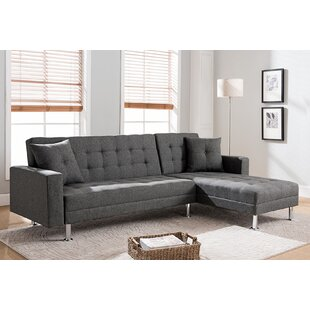 Superieur Paulin Reversible Chaise Sleeper Sectional