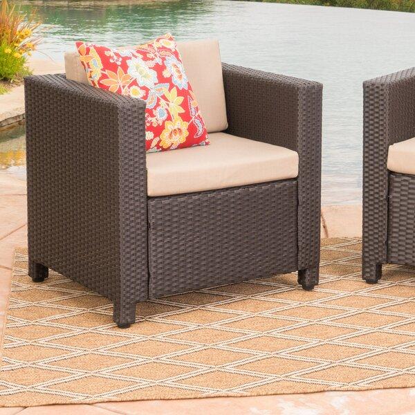 Outdoor Wicker Club Chair | Wayfair