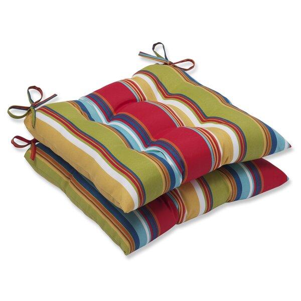 Crosthwait Garden Indoor/Outdoor Dining Chair Cushion (Set of 2)
