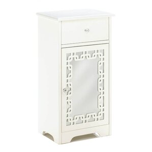 Ankita Decorative Mirror End Table by Opheli..