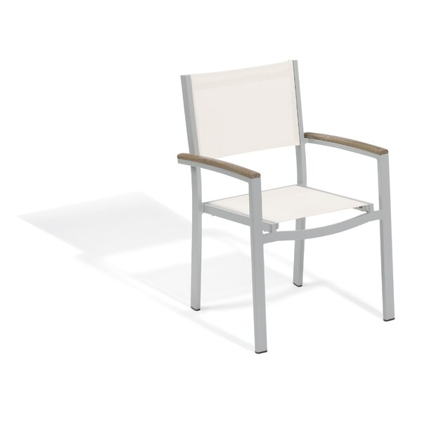 Laskowski Travira Patio Dining Chair (Set of 2) by Latitude Run