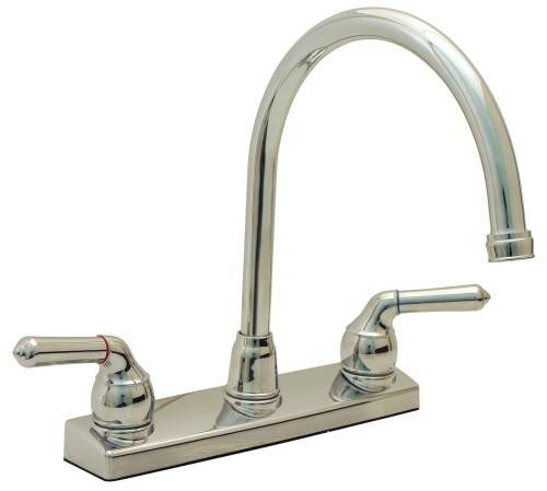 Double Handle Kitchen Faucet by ProPlus