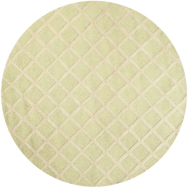Martins Light Green & Ivory Area Rug by Wrought Studio